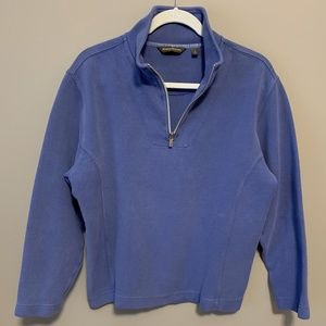 TOMMY BAHAMA 1/4 Zip Pullover Sweatshirt - Size L